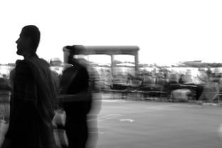 silhouettes, tempelhof flughafen