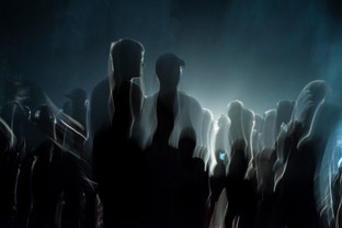 silhouettes, hasenheide park