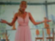 Miranda performing . Singing Juliette's