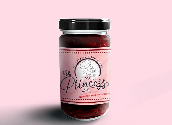 Sugar Free Keto Friendly Strawberry Jam