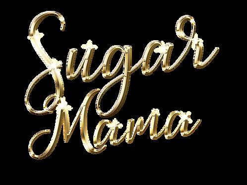 Sugar Mama Custom Deep V Bling Womens Tee