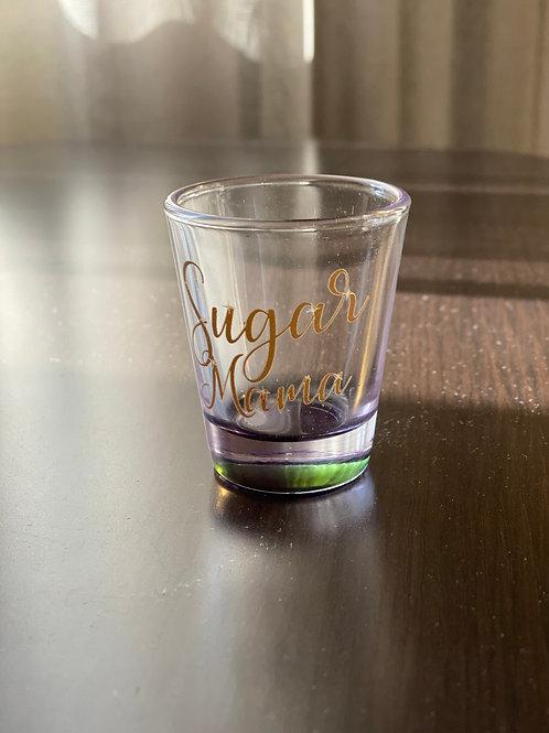 Sugar Mama Shot Glass