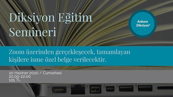 Ankara Diksiyon - Diksiyon Semineri