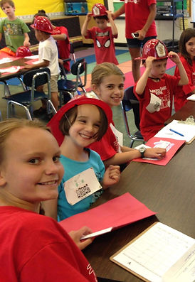 Campers learning at Evanston Safety Town