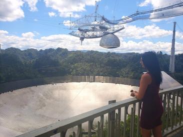 El radiotelescopio de la selva tropical del Caribe