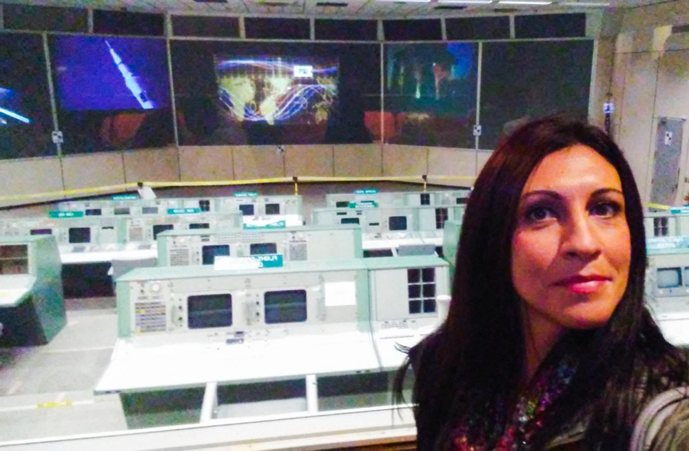 Centro de control de las misiones Apolo