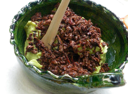 Grasshoppers on Guac