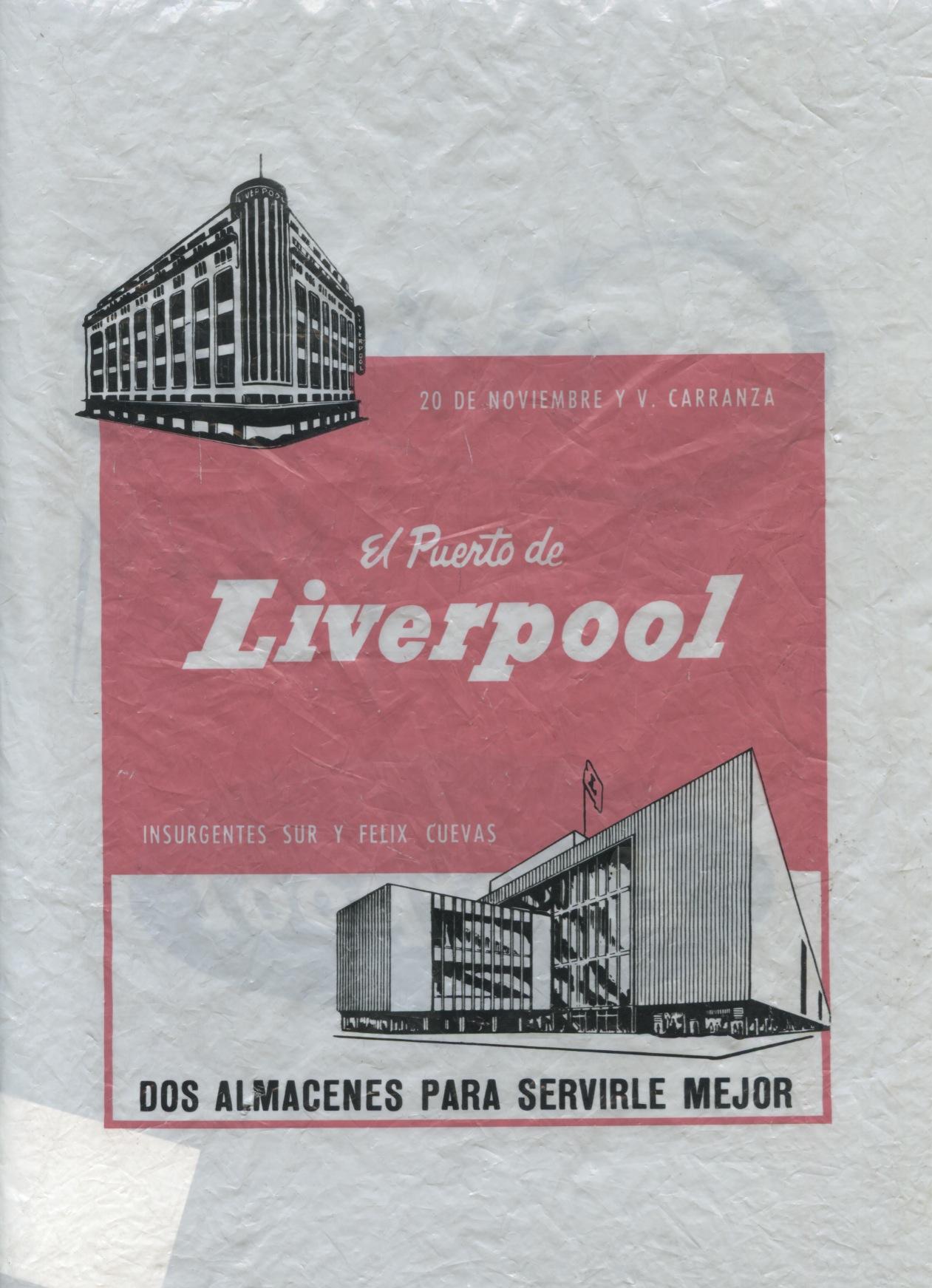 Vintage Liverpool Bag