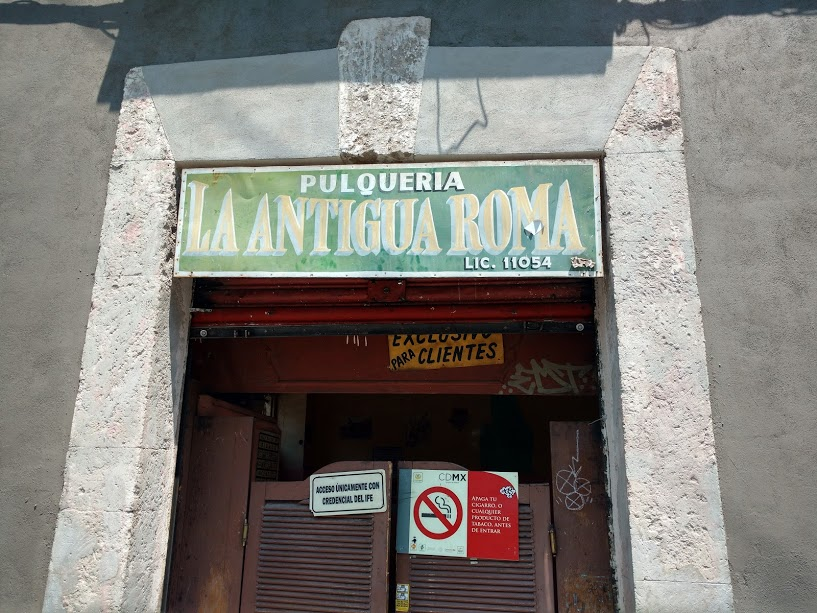 An Old Male-Only Pulque Depot