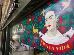 Frida can't be missed
