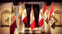 Mexican Flags at Churubusco