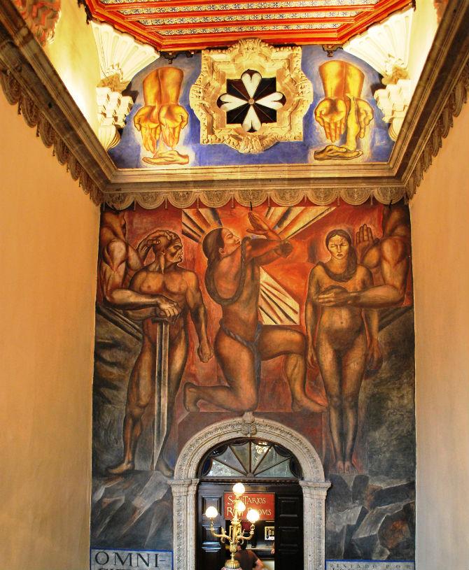 House of Tiles Mural
