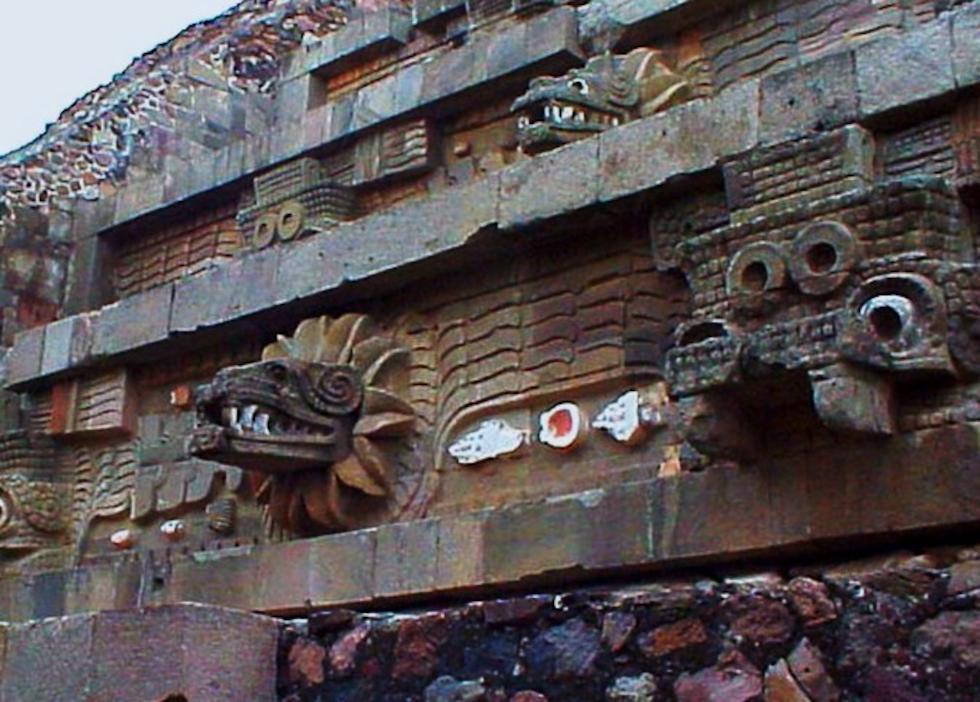 Quetzalcoatl and Tlaloc