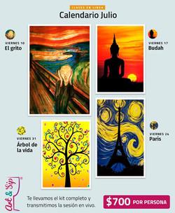Art'n Sip - Clases de Pintura