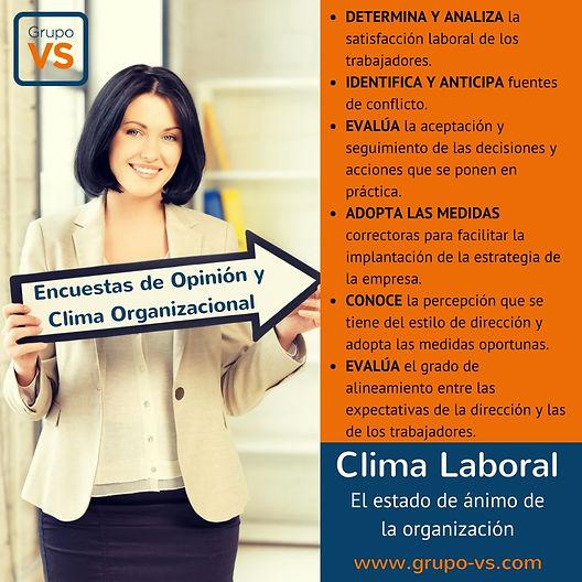 Encuestas, clima laboral, organizacional, motivación