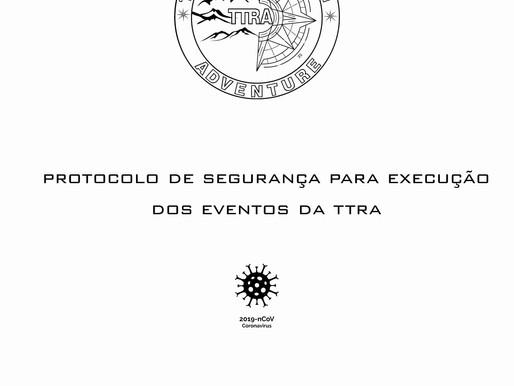 PROTOCOLO DE SEGURANÇA PARA EXECUÇÃO DOS EVENTOS TTRA