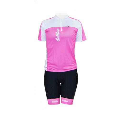 Conjunto Para Ciclismo Feminina Settler Pink