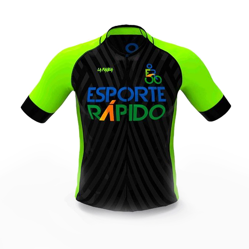 Camisa De Ciclismo Esporte Rápido Proride