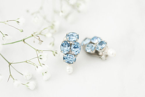 Bridal Clip On Earrings