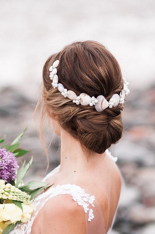 Sea Shell Hair Vine