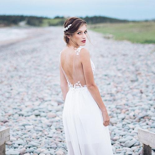 Bohemian Bridal Wedding Dress
