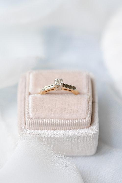halifax vintage engagement rings