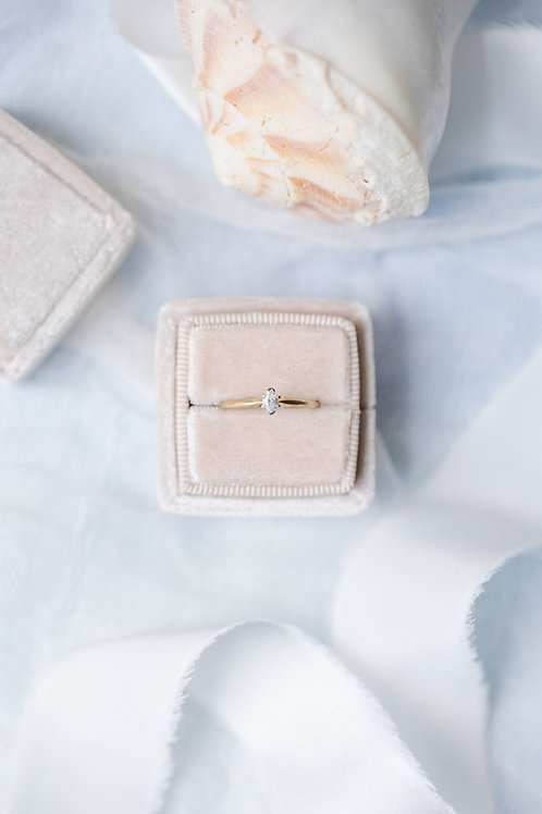 marquise solitaire engagement ring