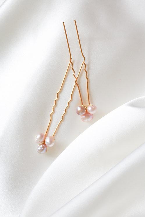 pearl hairpins