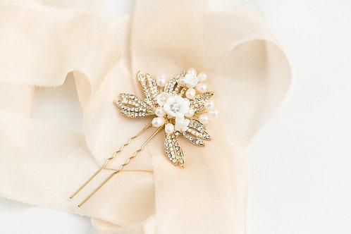 Pearl Bridal Hairpin