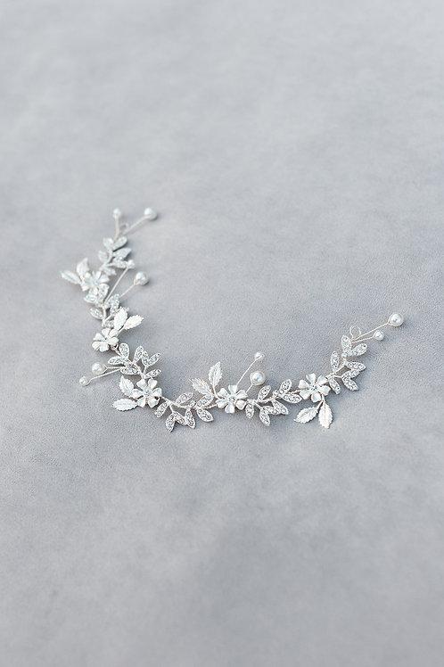 flower bridal hairvine