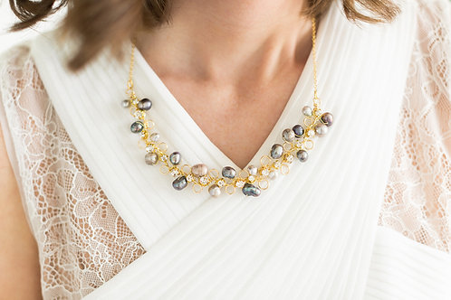 Fresh Water Pearl Bridal Necklace