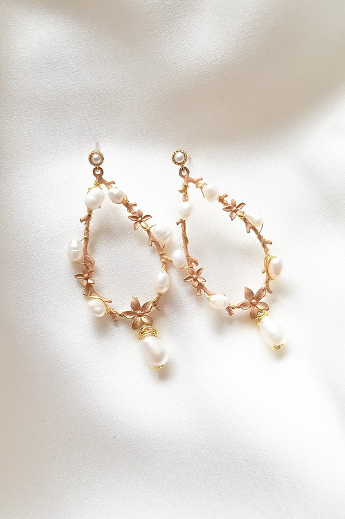 Mayflower Earrings #E014 (G/S)
