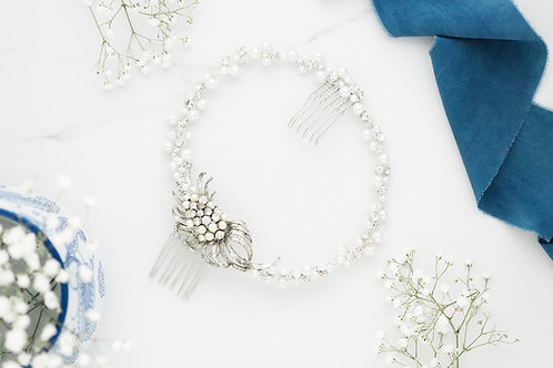 Pearl Crystal Comb