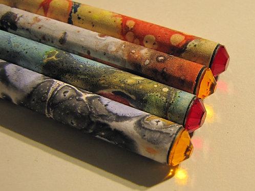 crayon à papier swarovski
