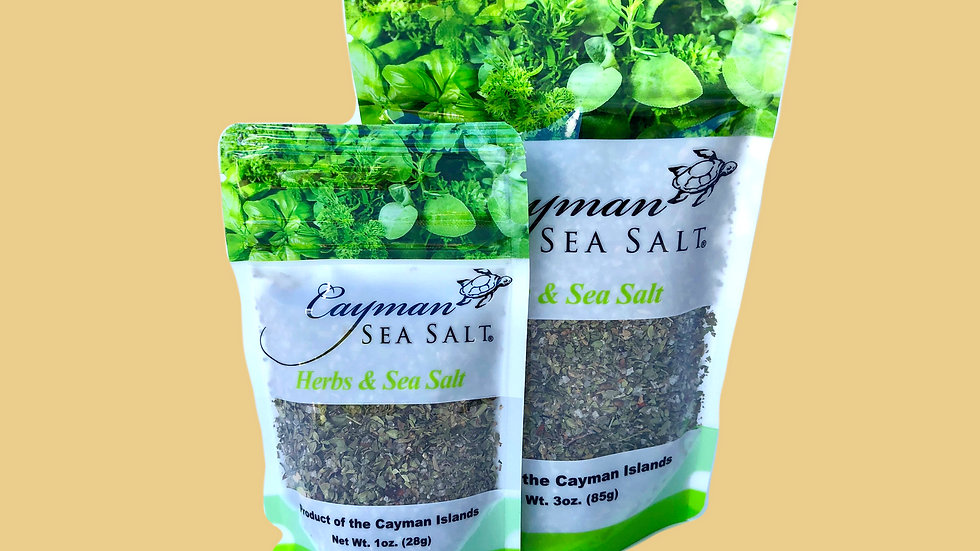 Cayman Sea Salt Herb Rub
