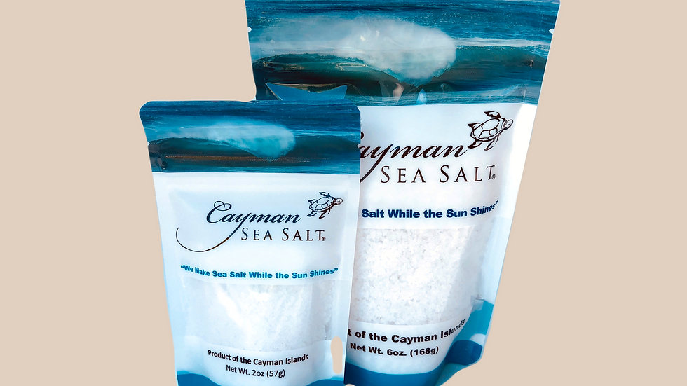 Cayman Sea Salt Resealable Bag
