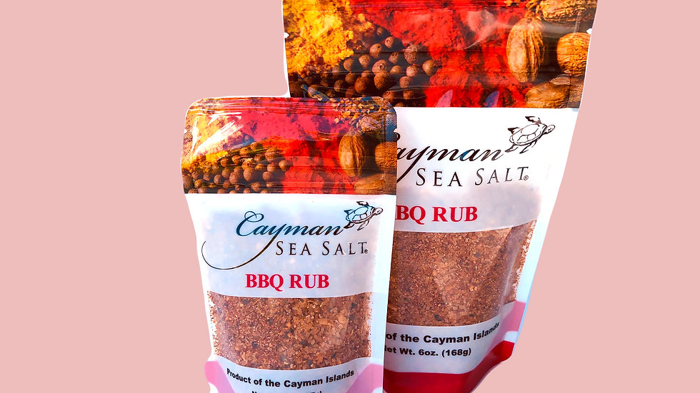 Cayman Sea Salt BBQ Rub