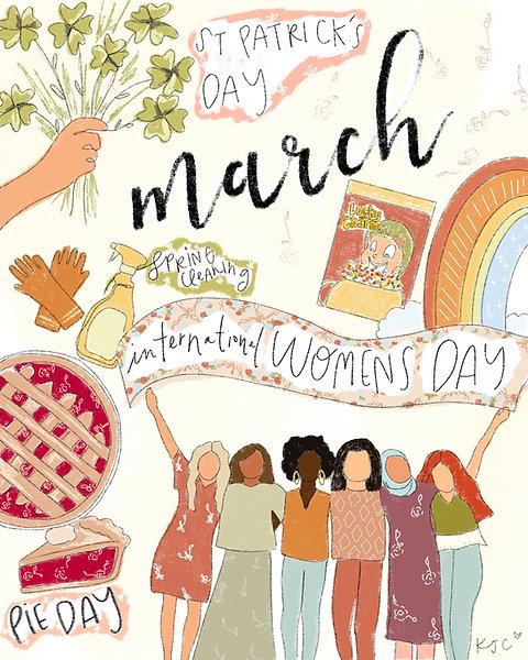 """March"" Free Digital Download"