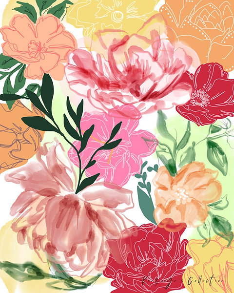 Summer Florals Free Download