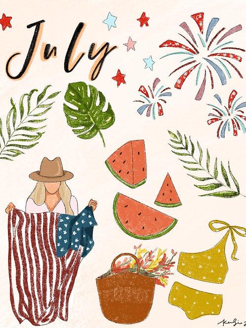 July Free Digital Download