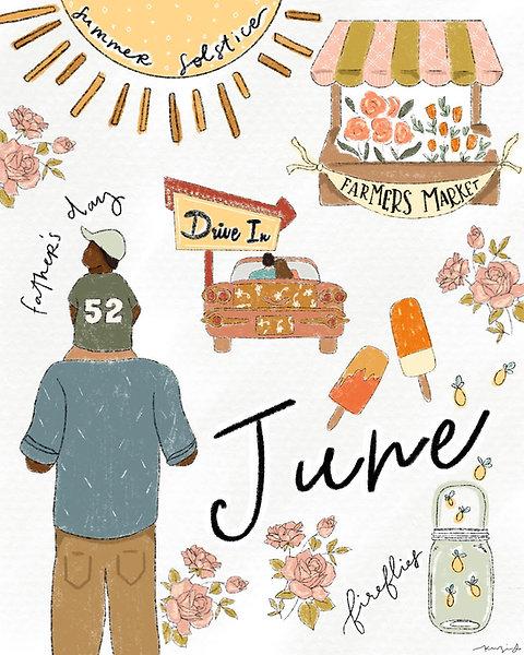 """""""June"""" Free Digital Download"""