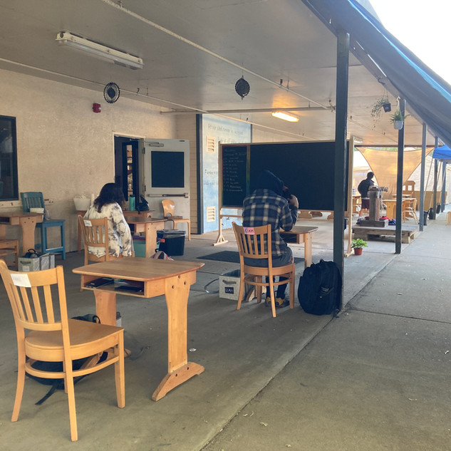 8th Garrde Outdoor Classroom