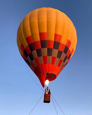 気球体験・イベントのウイニングバルーンクラブでは、1~2人乗り「チューブル号」を使用しています。