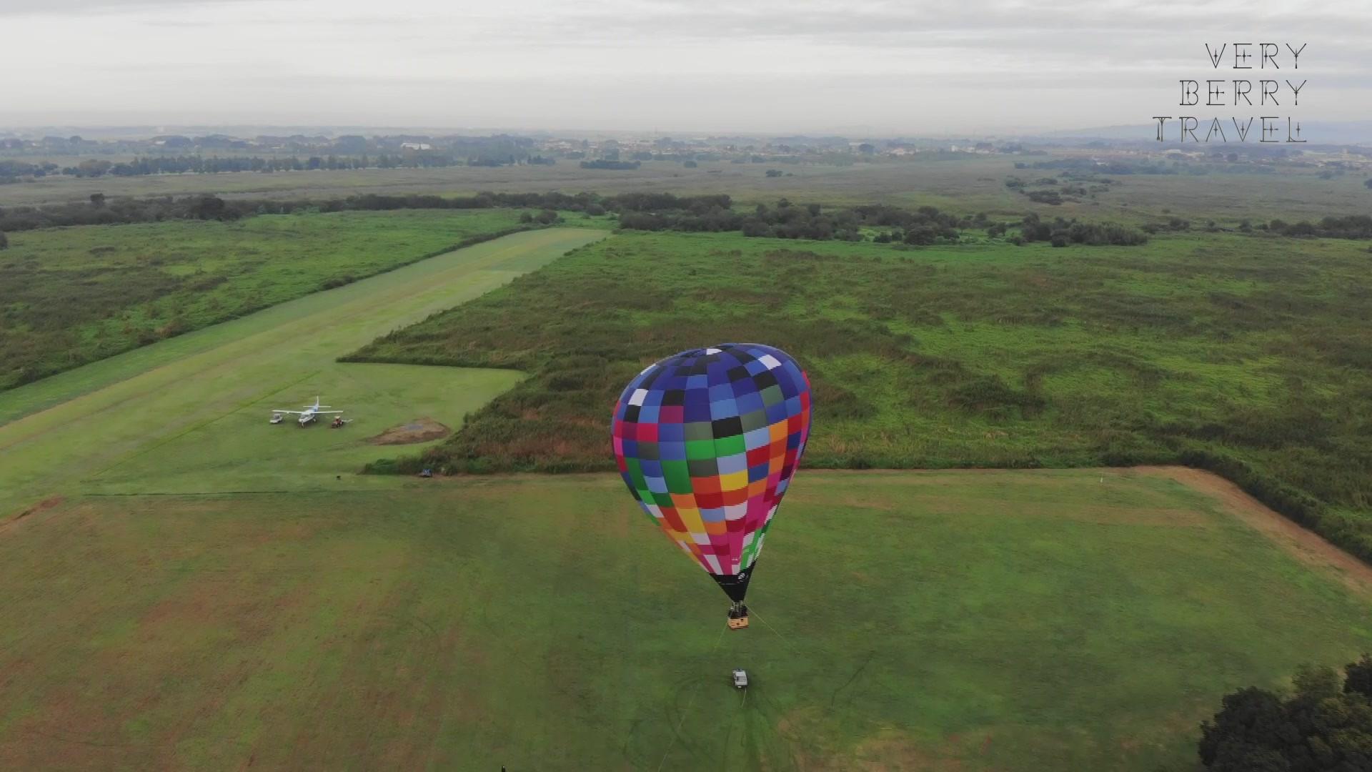 「VERRY BERRY TRAVEL」熱気球体験撮影