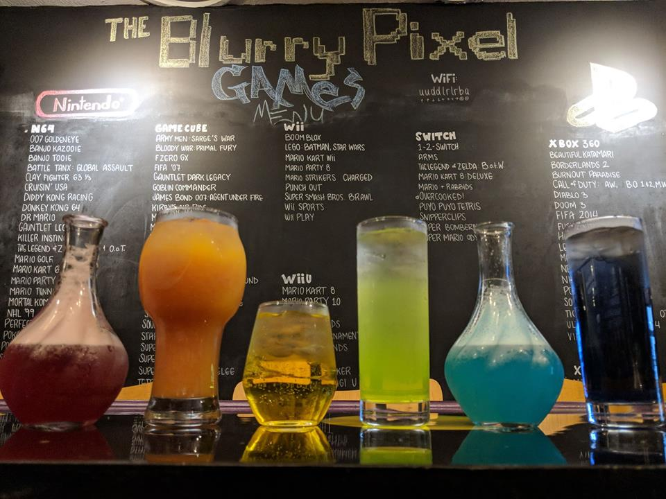 BlurryPixel Drinks