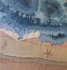 Starfish by the Seashore