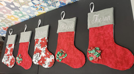 Customized and Embroidered Christmas Stockings
