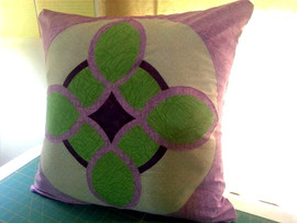 Celtic Link throw pillow