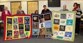 Take Stephanie's T-Shirt Quilt Class!
