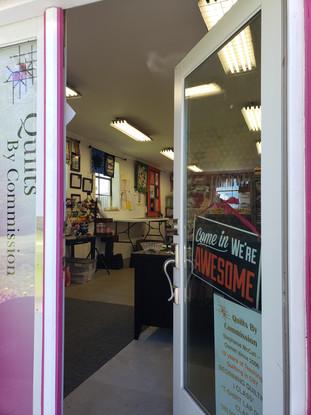 Front door of QBC Studio!